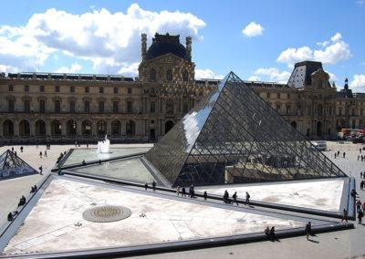 Louvre Museum, one of the finest and largest art museums in the world