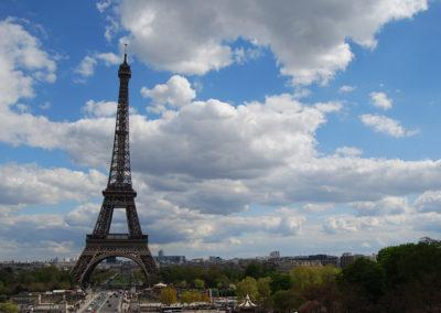 Eiffel Tower, this free-standing iron tower is the ultimate symbol of Paris