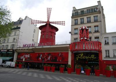 Moulin Rouge, the ultimate French cabaret venue