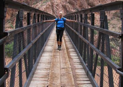 Bridge, Bright Angel Trail