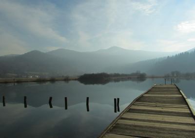 Podpeško jezero je majhen, a v marsičem poseben naravni biser.