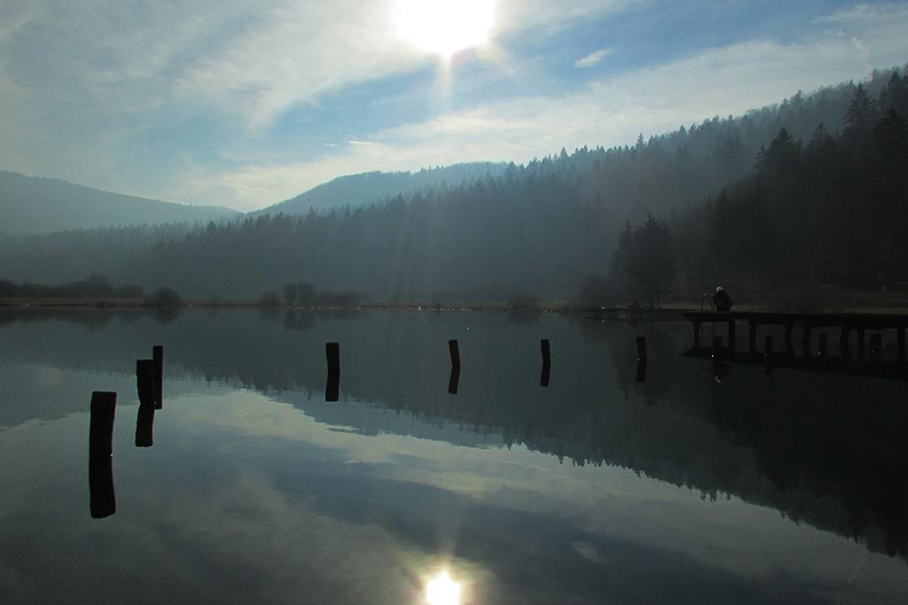 Odsevi Podpeškega jezera
