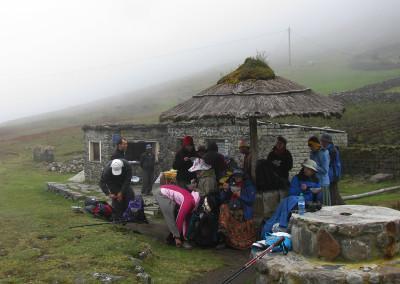 Tridnevni treking po inkovski poti El Choro.