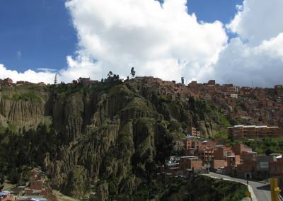 drugi pogled na La Paz