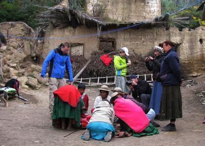 Ženske Kallwayev so ene najboljših tkalk Bolivije