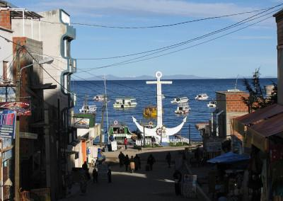 Copacabano ob jezeru Titikaka