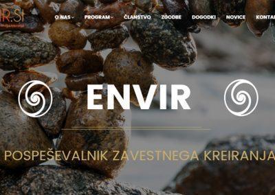 Spletno mesto Envir