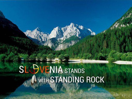 SLOVENIA stands with Standing Rock