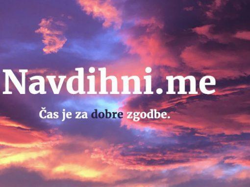 Spletno mesto Navdihni.me